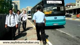 Halk Otobüsleri Facia yaşatmadan