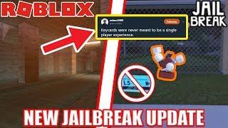 VIP Server farming is NERFED...   NEW SEWER Update Roblox Jailbreak