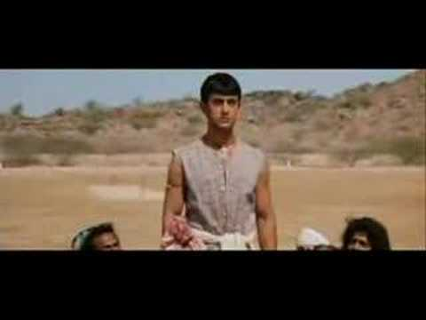 Lagaan with Aamir Khan