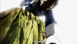Vegeta Saves Cabba From Being Elimanated - Dragon Ball Super (English Sub)