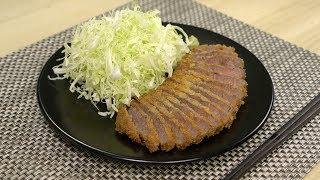 Beef Katsu ????Tokyo Sushi Mt Fuji Raphael cooking 4K ??????
