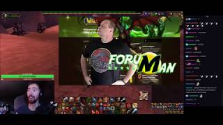 """Asmongold Reacts to """"Top 5 Reasons M+ Gear locking is great! - ft Forum Man"""" by Preach"""