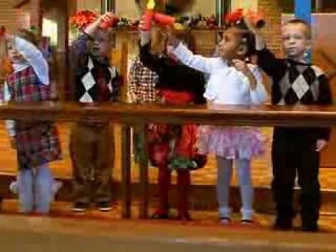 Weston - Holy Trinity Nursery School Christmas Show 2013, song 4