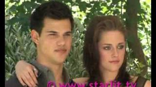 Eclipse in Rome! The Exclusive candid with Taylor Laustner and Kristen Stewart! by starlit.tv