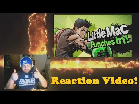 Reaction Video: Little Mac in Smash bros Wii U/3DS