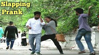 Slapping People Funny Prank | Prank Buzz in India 2017