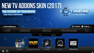 How to update New TVADDONS Skin (2017)