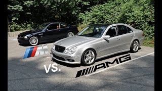 Mercedes AMG vs. BMW M | 5 Things That Each Do Best