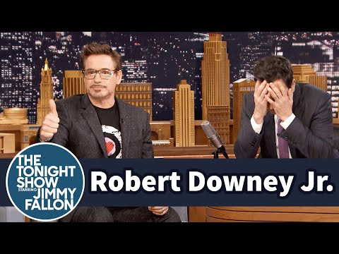 Robert Downey Jr. Coaches Jimmy Through Dramatic Acting Scenes thumbnail