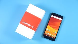Lenovo K5(K350T) Unboxing and Hands On Review Video