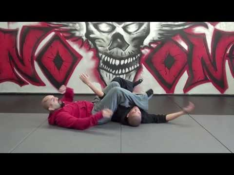 Arm Bar from Knee on Stomach Tutorial // Practice with a Warrior Mentality