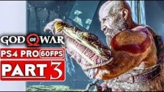 GOD OF WAR Walkthrough Gameplay Part 3 - KRATOS (God of War 4)