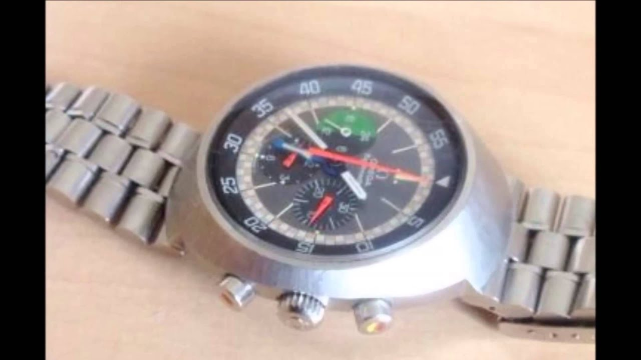 Watches Manual Wind Wind Chronograph Watch