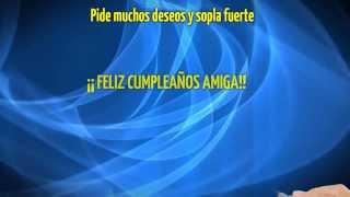 Cumpleaños Feliz  Feliz Cumpleaños Amiga Te Quiero Mucho