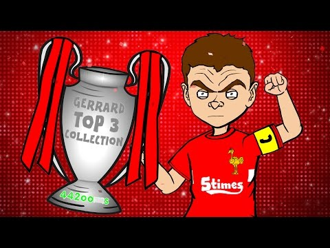 ⭐️STEVEN GERRARD TOP 3 COLLECTION⭐️ (PARODY highlights goals career kits)