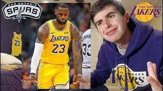 LAKERS LOSE TO SPURS!! WHY RONDO... LAKERS FAN RANT+REACTION