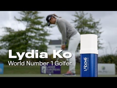 Lydia Ko Partners with 1Above - The Flight Drink to Arrive Ready