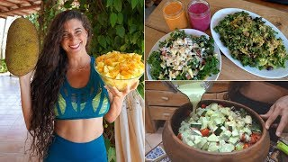 WHAT I ATE TODAY in Costa Rica! FullyRaw Vegan Style...