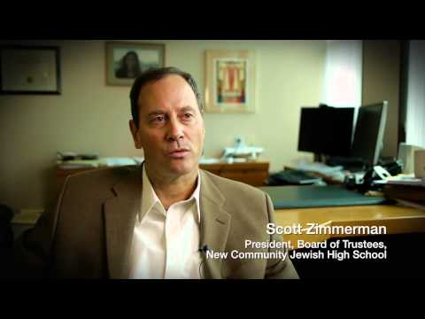 BJE Video Recognizing New Community Jewish High School - 11/07/2013