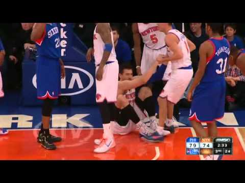 Andrea Bargnani epic dunk fail