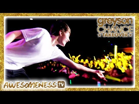 Greyson Chance Takeover Pumped Up Kicks Live video