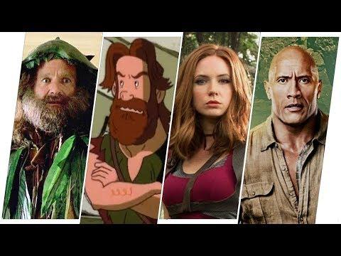 Jumanji Evolution in Movies & TV