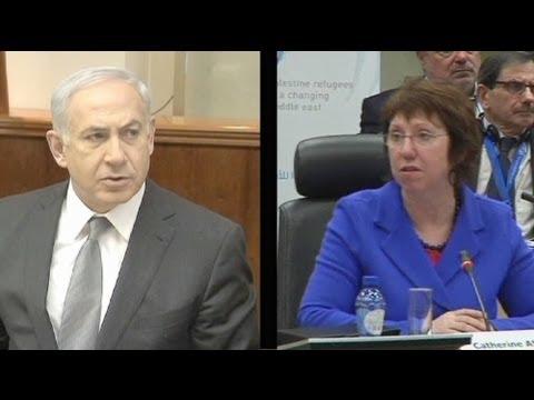 Ashton'un Gazzeli çocukları hatırlatması İsrail'i kızdırdı