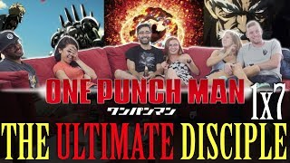 One Punch Man - 1x7 The Ultimate Disciple - Group Reaction