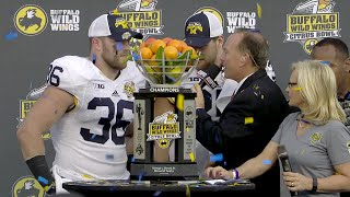 2016 Citrus Bowl Trophy Presentation - Michigan vs Florida