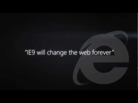 A more beautiful web is... Internet Explorer TV commercial