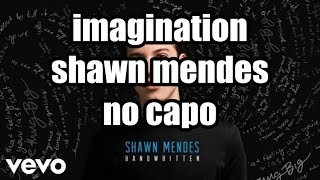 imagination shawn mendes lyrics and chords
