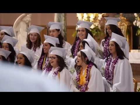 Pomona Catholic High School Graduation 2014 Nikole Carranza - 05/28/2014