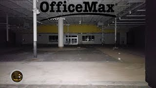 EXCLUSIVE Look At The Abandoned OfficeMax At City View Center Garfield Heights, OH