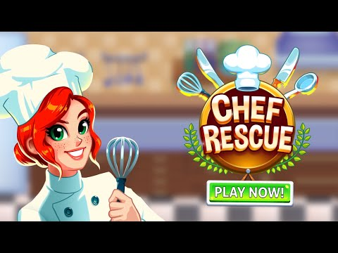 Chef Rescue - Cooking & Restaurant Management Game APK Cover