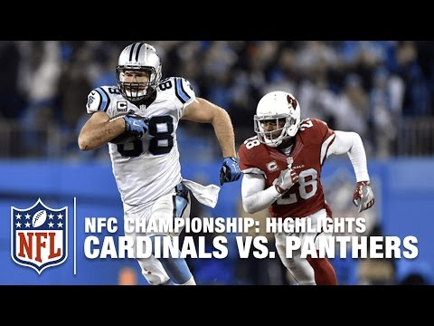 Cardinals Vs Panthers Nfc Championship Highlights Nfl