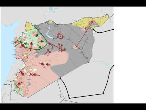 ISIS MIlitary Strategy Assad; Kurds; FSA and NATO: War and Peace