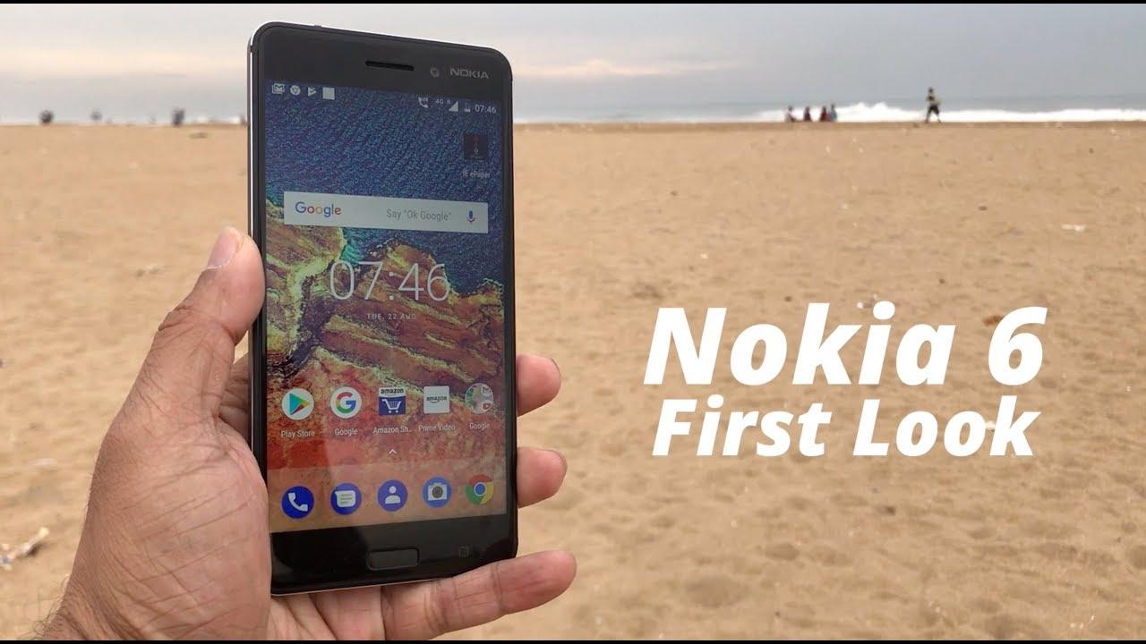 Nokia 6 Smartphone First Look