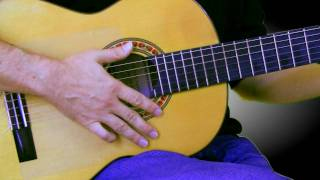 Guitar Lessons - Basic Gypsy Flamenco Rumba Spanish Guitar  Strum - pt. 2