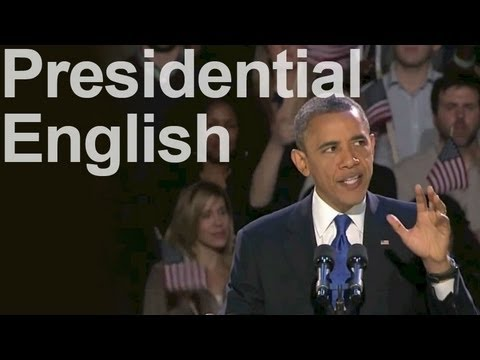 Reduction in Presidential Speeches — American English Pronunciation