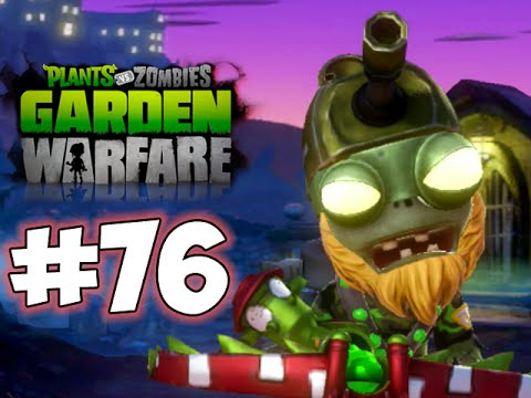 Plants Vs. Zombies GARDEN WARFARE PART 76 SUBURBINATION HD GAMEPLAY