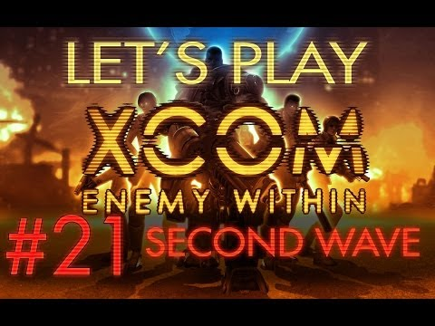 Lets Play XCOM Enemy Within part 21 Epic Terror Second Wave