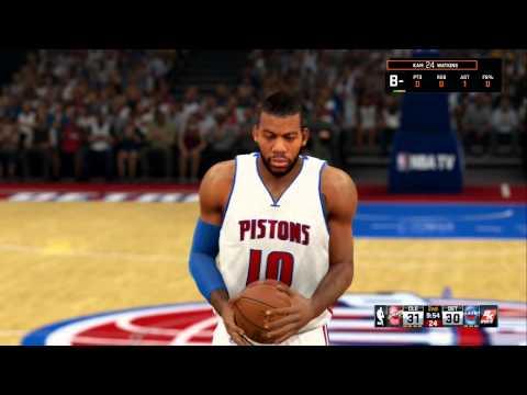 NBA 2K15: MyCareer Ep. 2 (1st NBA Game!)