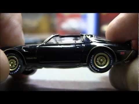 Greenlight Smokey And The Bandit 1 64 Cars 1 Amp 2 Youtube