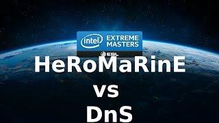 Starcraft 2 - IEM - TvP - HeRoMaRinE vs DnS