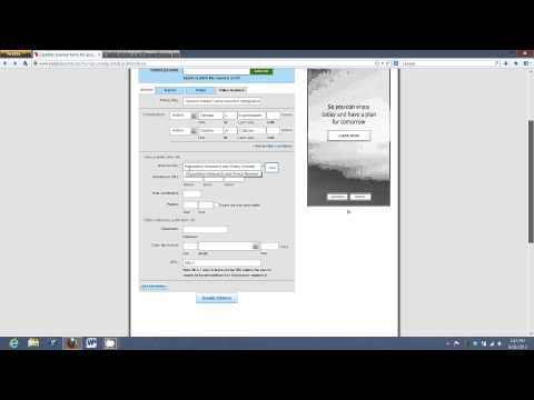 How to use EasyBib.com - Mr. Guglielmo Tutorial - Part 3 (citing an online journal article)