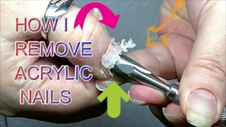 HOW TO REMOVE ACRYLIC NAILS FROM START TO FINISH AND ADD GEL | ABSOLUTE NAILS