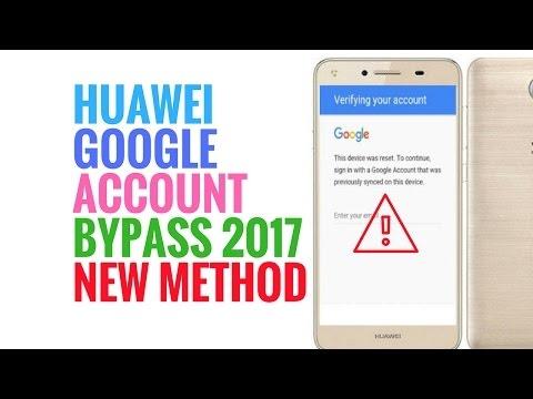 Huawei Lua U22 Y3 ii Forgot Password Gmail Google FRP