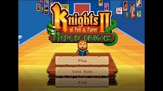 Let's Play Knights Of Pen And Paper 2 Part 1