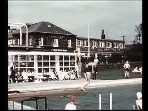 Scarborough 1957.A British Transport Film.
