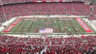 Ohio State Marching Band Halftime Alumni Show